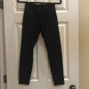 Lysse Stretch Fitted Pants size Small Black Grey